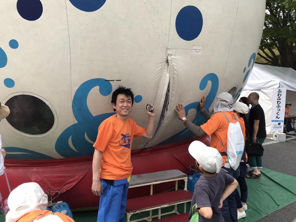 『ツール・ド・しものせき』ボランティア参加のサムネイル画像3