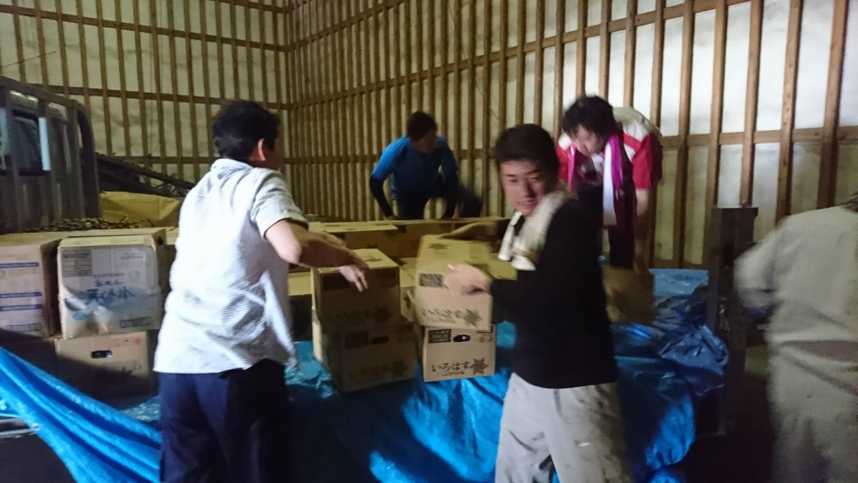 九州北部豪雨災害復興支援ボランティア活動のサムネイル画像6