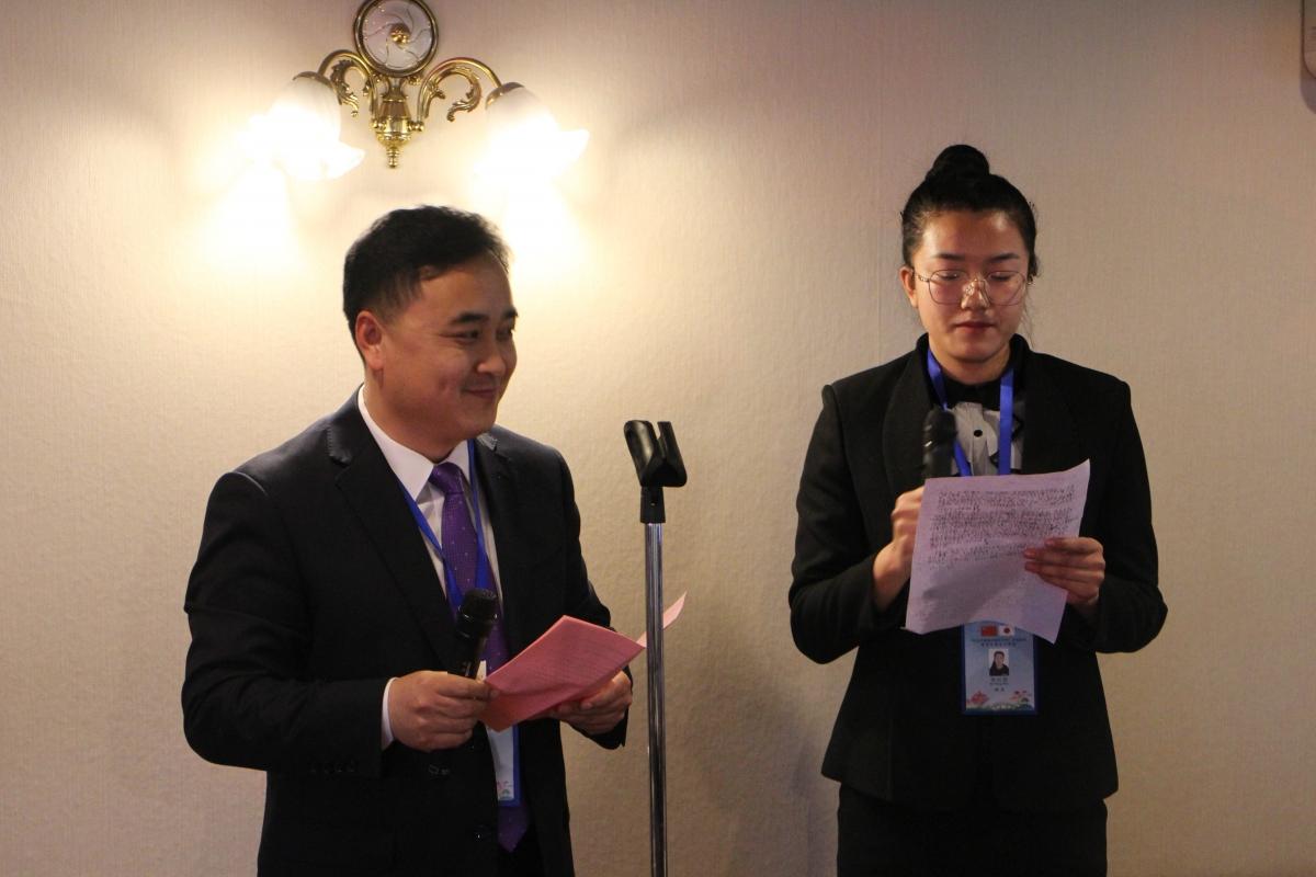 中国共青団青島訪日代表団 懇親会のサムネイル画像2