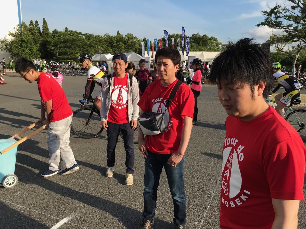 『ツール・ド・しものせき』ボランティア参加のサムネイル画像2