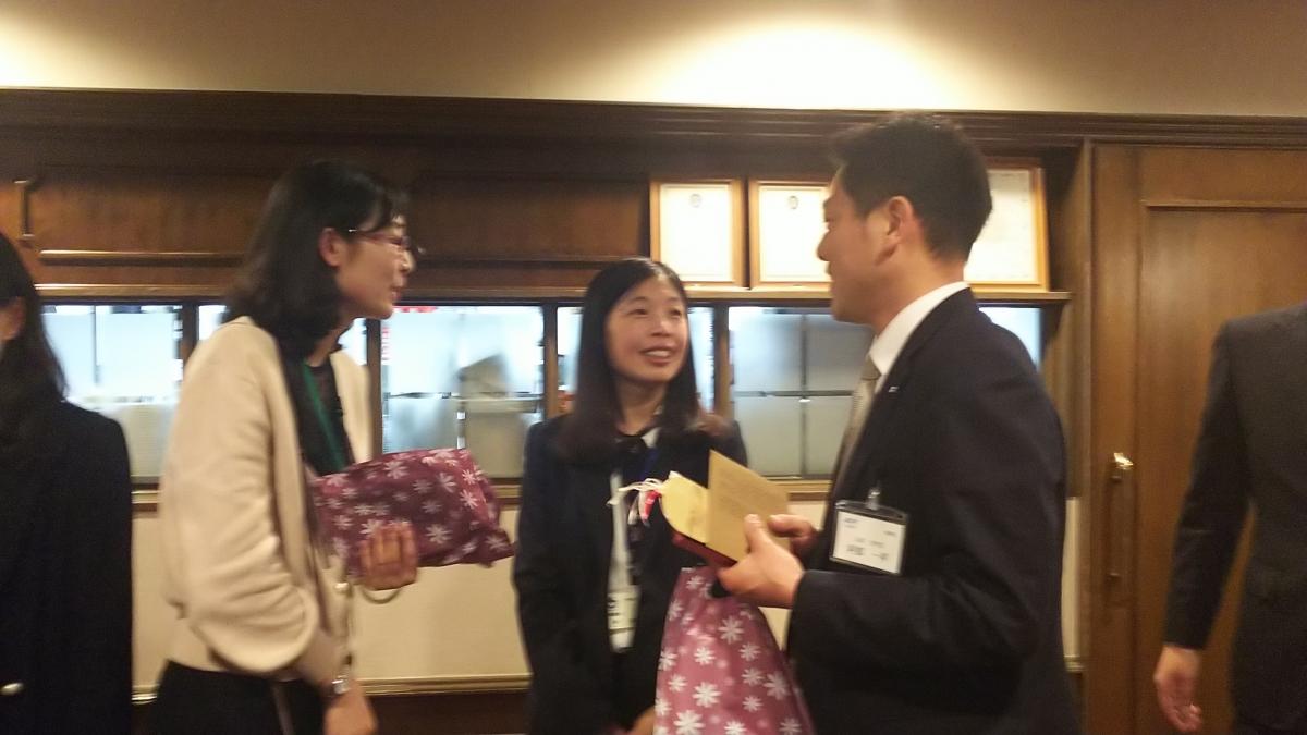 「日中植林・植樹国際連帯事業」2019年青島市青年代表団 懇親会のサムネイル画像3