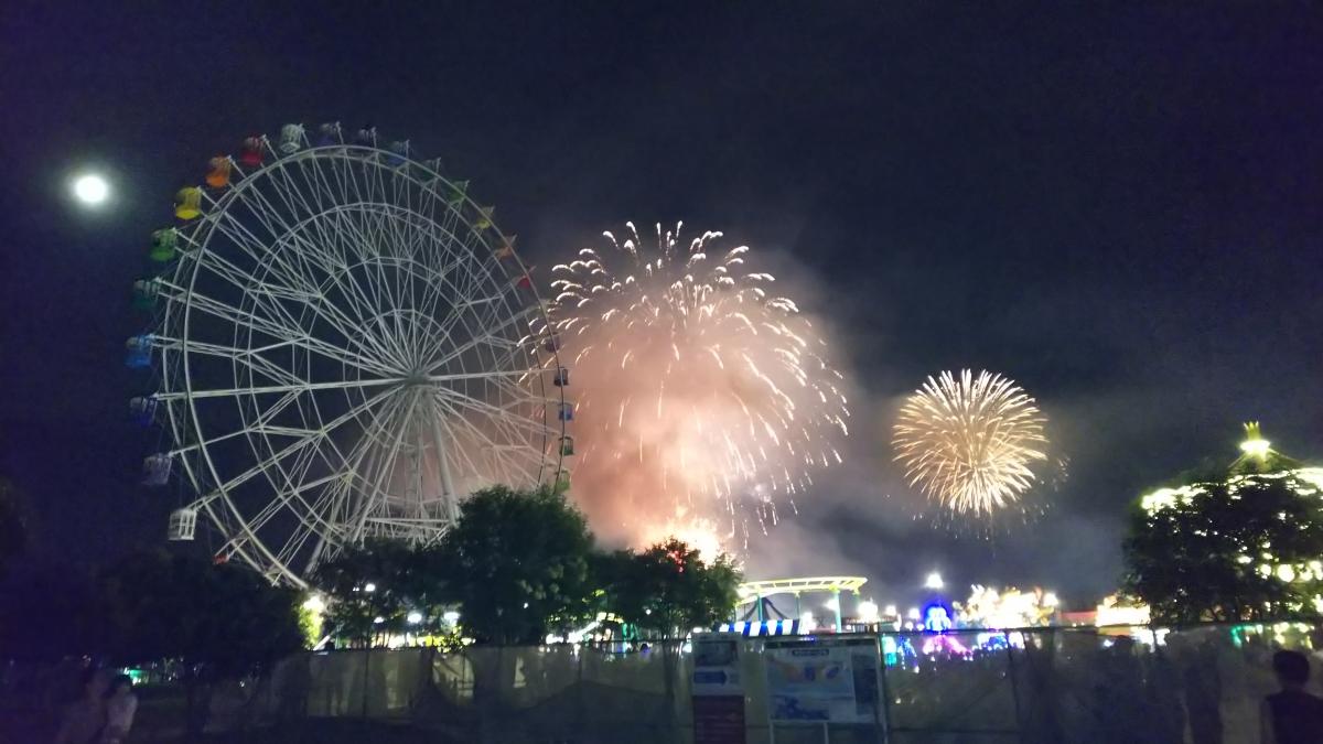 「関門海峡花火大会」のサムネイル画像7