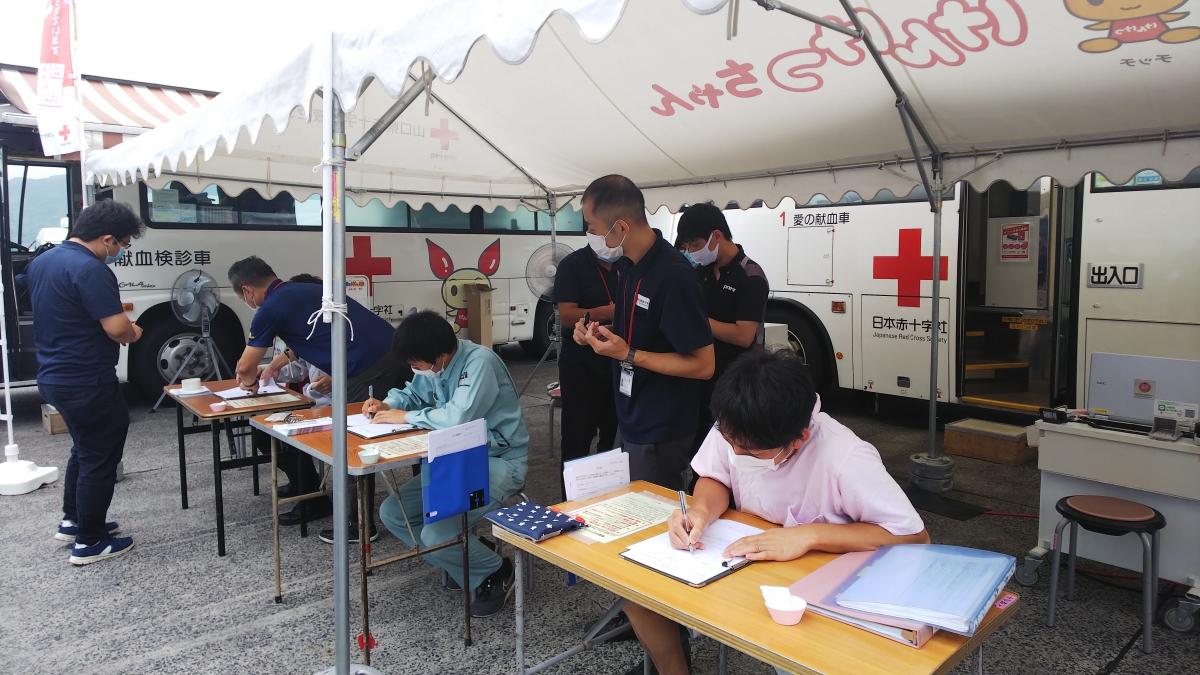 9月5日 献血にご協力いただきありがとうございましたのサムネイル画像1
